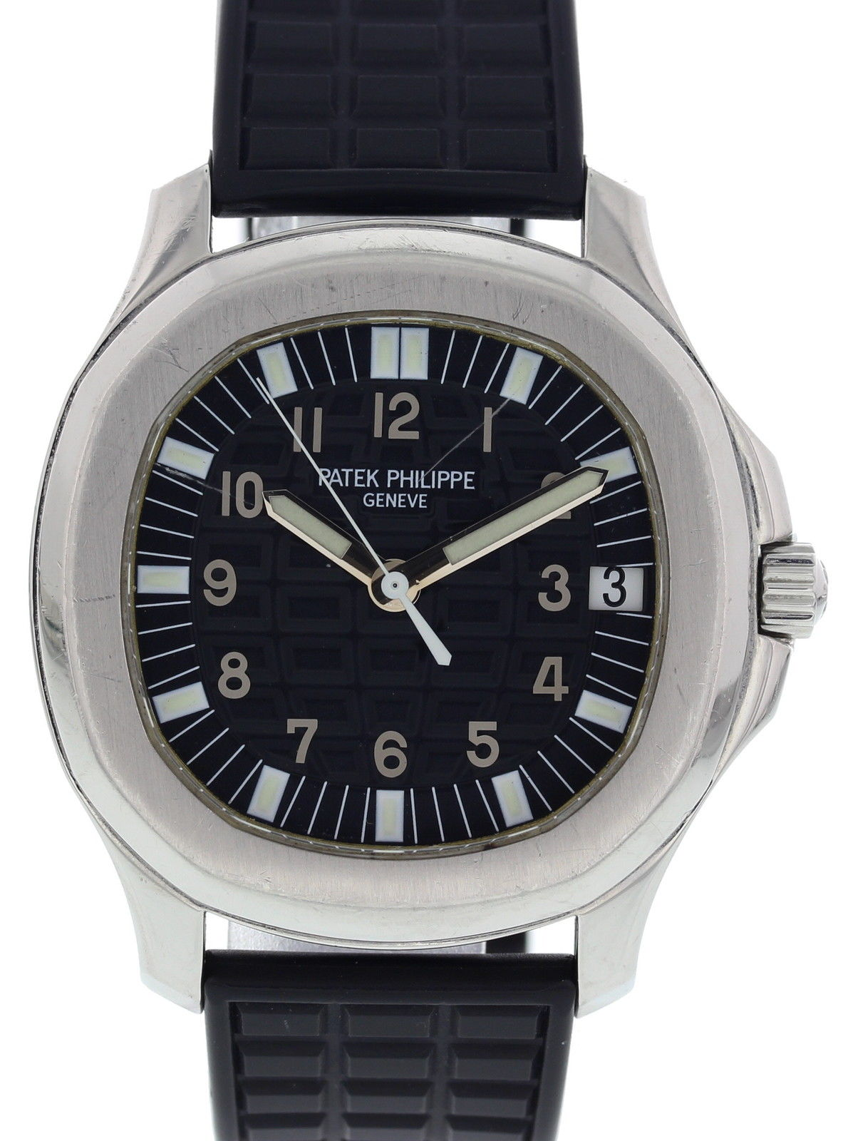 Patek Philippe Aquanaut 5065 Stainless Steel & Rubber Automatic 39mm