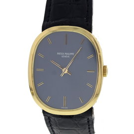 Patek Phillipe Ellipse 3548 18K Yellow Gold & Leather Manual 27mm Unisex Watch