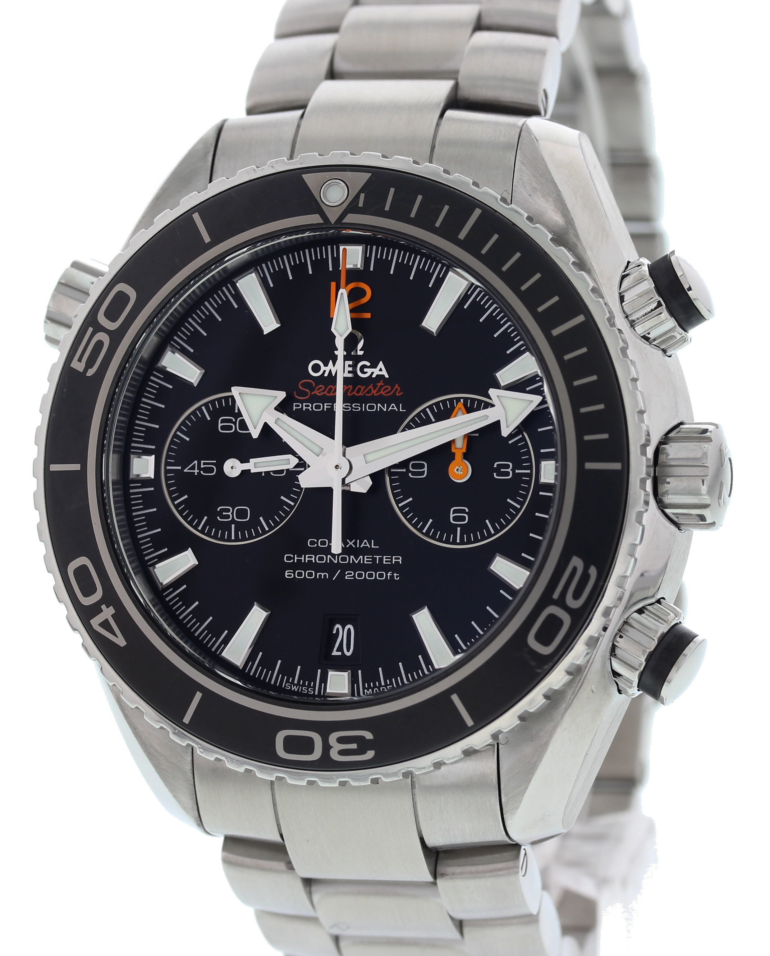 "Image of ""Omega Seamaster 232.30.38.20.01.001 Stainless Steel Black Dial"""