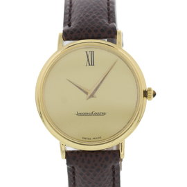 Jaeger-LeCoultre 9212-21 18K Yellow Gold & Champagne Dial 33mm Mens Watch