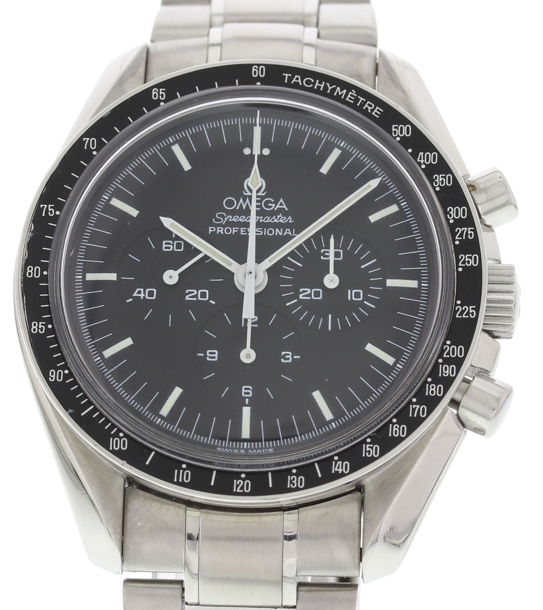 "Image of ""Omega Speedmaster 3573.50.00 Stainless Steel Black Dial Manual 42mm"""