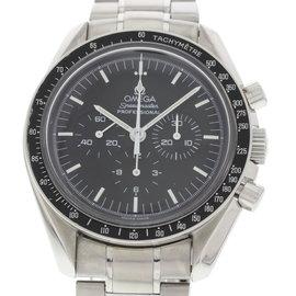 Omega Speedmaster 3573.50.00 Stainless Steel Black Dial Manual 42mm Mens Watch