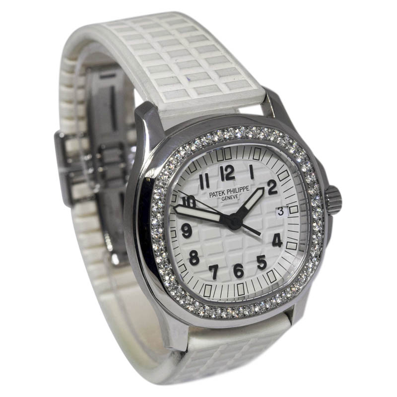 Patek Philippe Aquanaut 5067A-011 Stainless Steel & Diamonds Luce 35mm