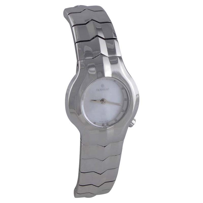 """Image of """"Tag Heuer Wp1412 Stainless Steel Mother Of Pearl Dial Quartz 25mm"""""""