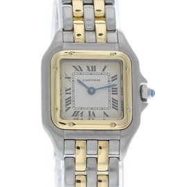 Cartier Panthere 168921 18K Yellow Gold & Stainless Steel Quartz 22mm Womens Watch