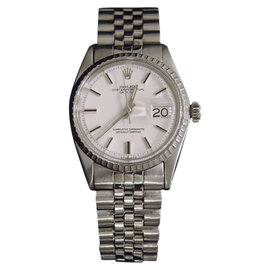 Rolex Datejust 1603 Stainless Steel with White Dial 36mm Mens Watch