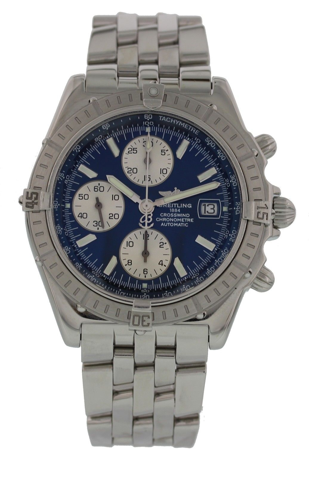 "Image of ""Breitling Crosswind A13355 Stainless Steel 44mm Mens Watch"""