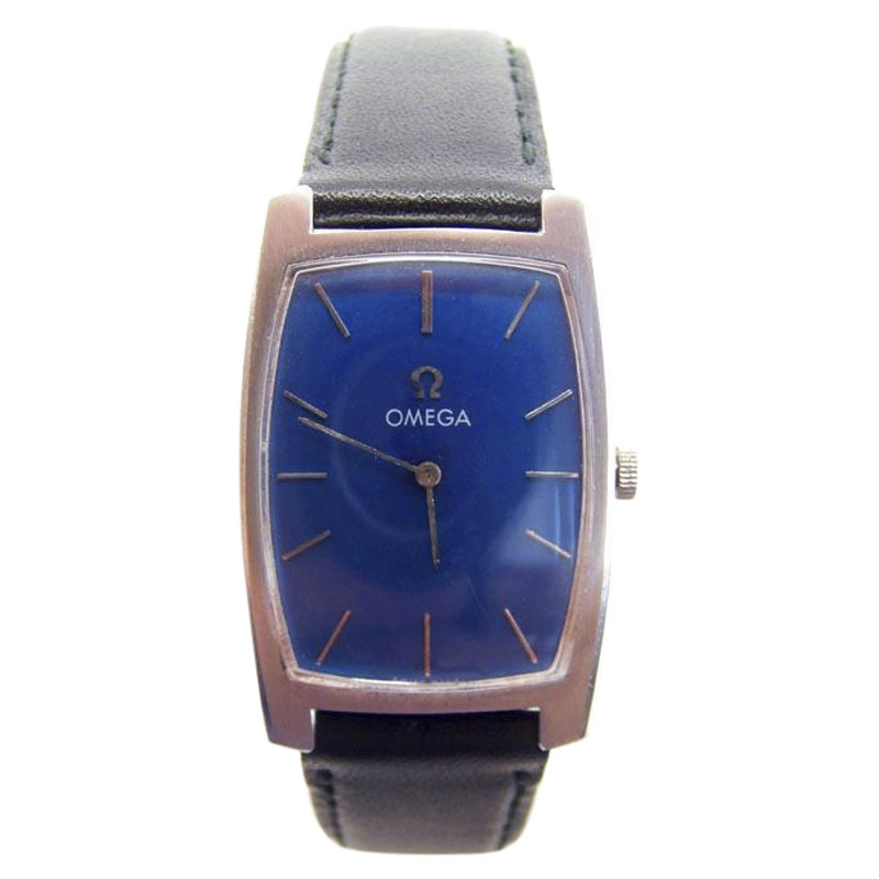 """Image of """"Omega Stainless Steel Automatic Vintage 32mm Mens Watch 1970s"""""""
