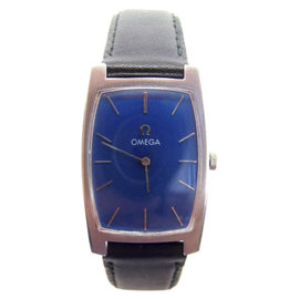Omega Stainless Steel Automatic Vintage 32mm Mens Watch 1970s