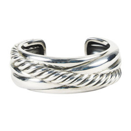 David Yurman 925 Sterling Silver Sculpted