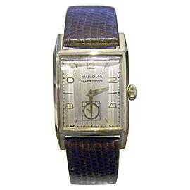 Bulova 14K Yellow Gold Automatic 24.5mm Mens Watch Year 1951