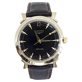 Longines 2269-3 14K Yellow Gold Automatic Vintage 35.3mm Mens Watch