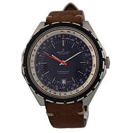 Breitling Vintage 188 Chronomat Lapis Blue Dial Prototype 48mm Mens Watch
