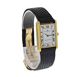 Baume & Mercier Van Cleef & Arpels 37077 18k Plated Yellow Gold Watch