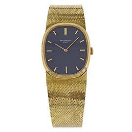 Patek Philippe Elipse 3546 18K Yellow Gold Vintage 27mm Unisex Watch