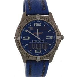Breitling Aerospace E75362 Stainless Steel Quartz 42mm Mens Watch
