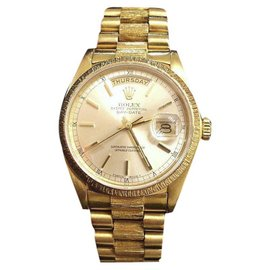 Rolex Day-Date 18078 18K Yellow Gold Automatic 36mm Mens Watch