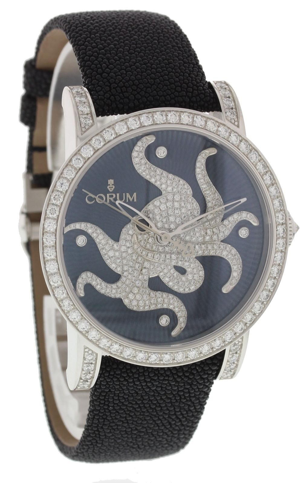 "Image of ""Corum Octopus 982.202.69 18K White Gold & Diamonds 42mm Unisex Watch"""