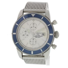 Breitling SuperOcean A13320 Stainless Steel Automatic 45mm Mens Watch