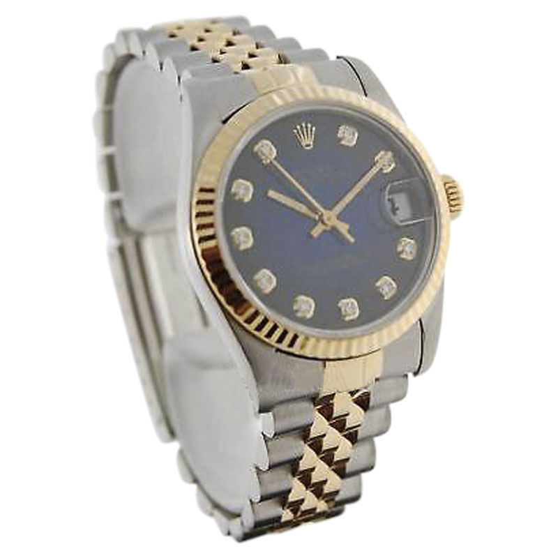 """Image of """"Rolex Datejust 68273 Stainless Steel 18K Yellow Gold Automatic 31mm"""""""