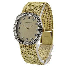 Audemars Piguet Royal Oak 18K Yellow Gold with Diamond Manual Vintage 25mm Womens Watch
