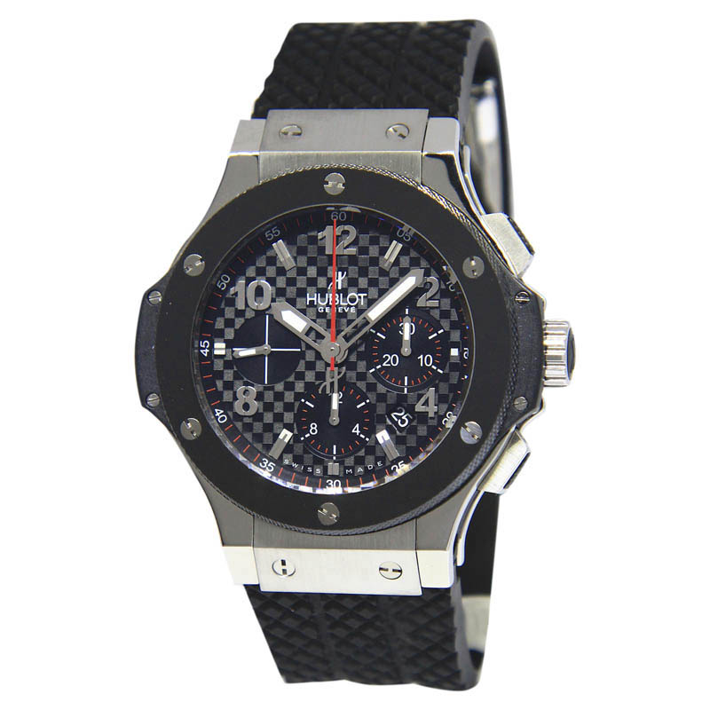 "Image of ""Hublot Big Bang 301-W Stainless Steel with Ceramic 44mm Mens Watch"""