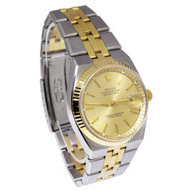 Rolex Datejust 1630 14K Yellow Gold / Stainless Steel Automatic Vintage 36mm Mens Watch