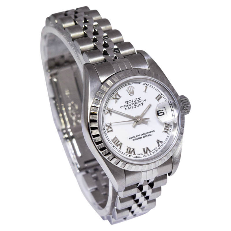 """Image of """"Rolex Datejust 79240 Stainless Steel with White Roman Dial Automatic"""""""