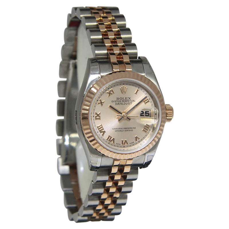 """Image of """"Rolex Datejust 179171 18K Pink Gold and Stainless Steel Automatic 26mm"""""""