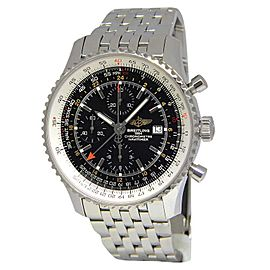 Breitling Navitimer A24322 Stainless Steel & Black Dial 46mm Mens Watch