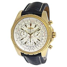 Breitling Bentley K25362 18K Yellow Gold Automatic 48mm Mens Watch