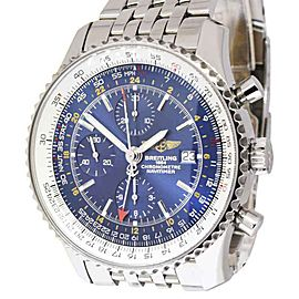 Breitling Navitimer A24322 Stainless Steel & Blue Dial 46mm Mens Watch