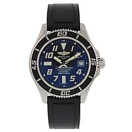 Breitling Superocean A17364 Stainless Steel & Rubber Automatic 42mm Mens Watch