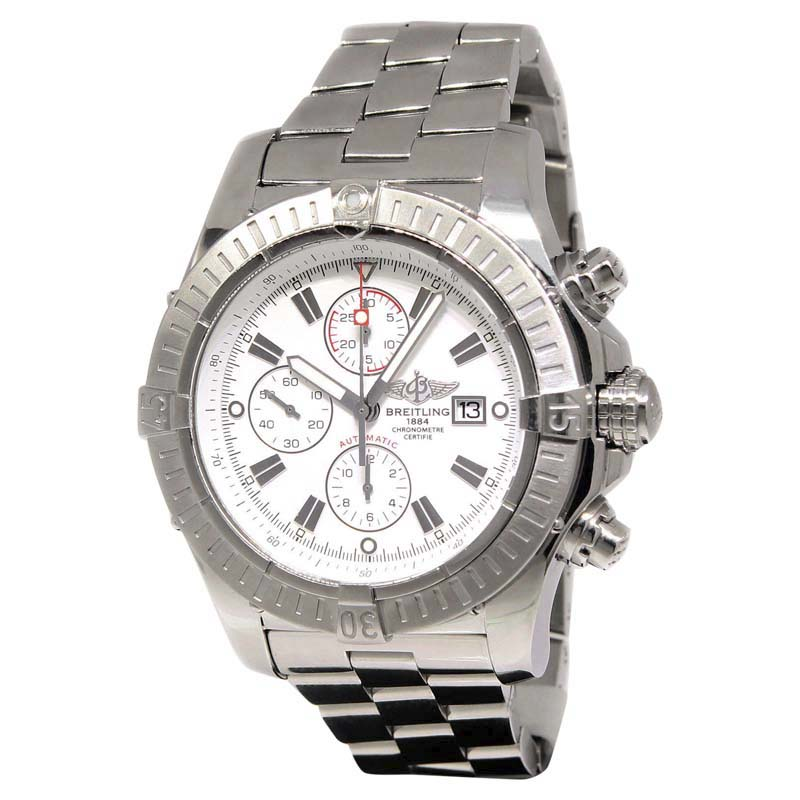 """Image of """"Breitling Super Avenger A13370 Stainless Steel 48.5mm Mens Watch"""""""