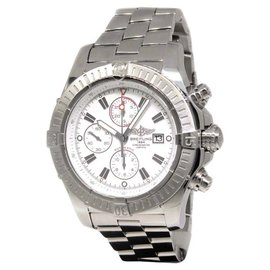Breitling Super Avenger A13370 Stainless Steel 48.5mm Mens Watch