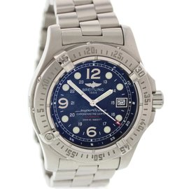 Breitling Superocean A17390 Stainless Steel Automatic 44mm Mens Watch