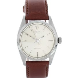 Rolex Oyster Precision 6426 Stainless Steel Manual Vintage 34mm Mens Watch