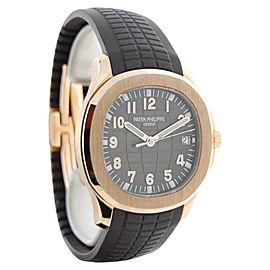 Patek Philippe Aquanaut 5167R-001 18K Rose Gold & Rubber Automatic 40mm Mens Watch