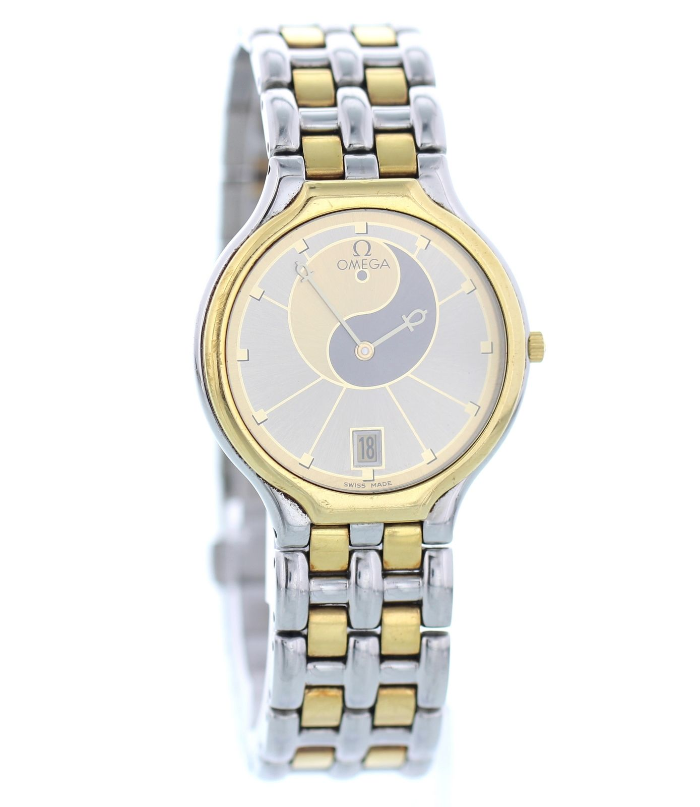 """Image of """"Omega DeVille 196.0316 / 396.1016 18K Yellow Gold & Stainless Steel"""""""