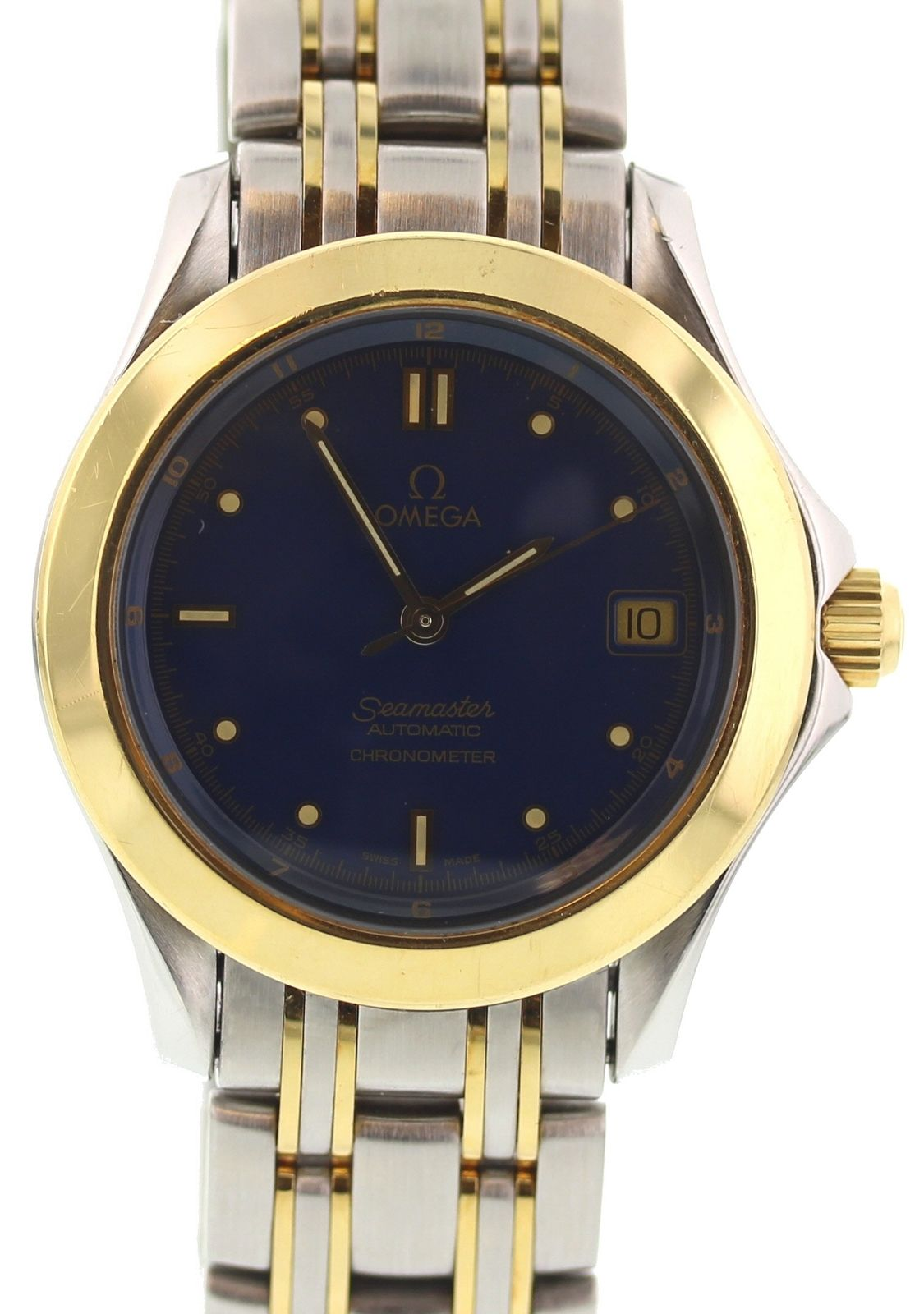 """Image of """"Omega Seamaster 168.1501 Stainless Steel & 18K Yellow Gold Automatic"""""""