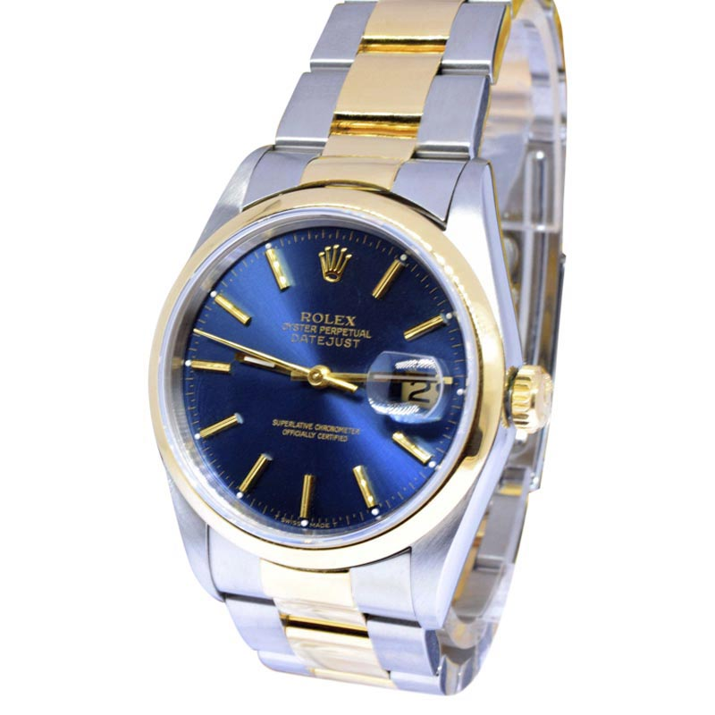 """Image of """"Rolex Datejust 16203 18K Yellow Gold & Stainless Steel Automatic 36mm"""""""