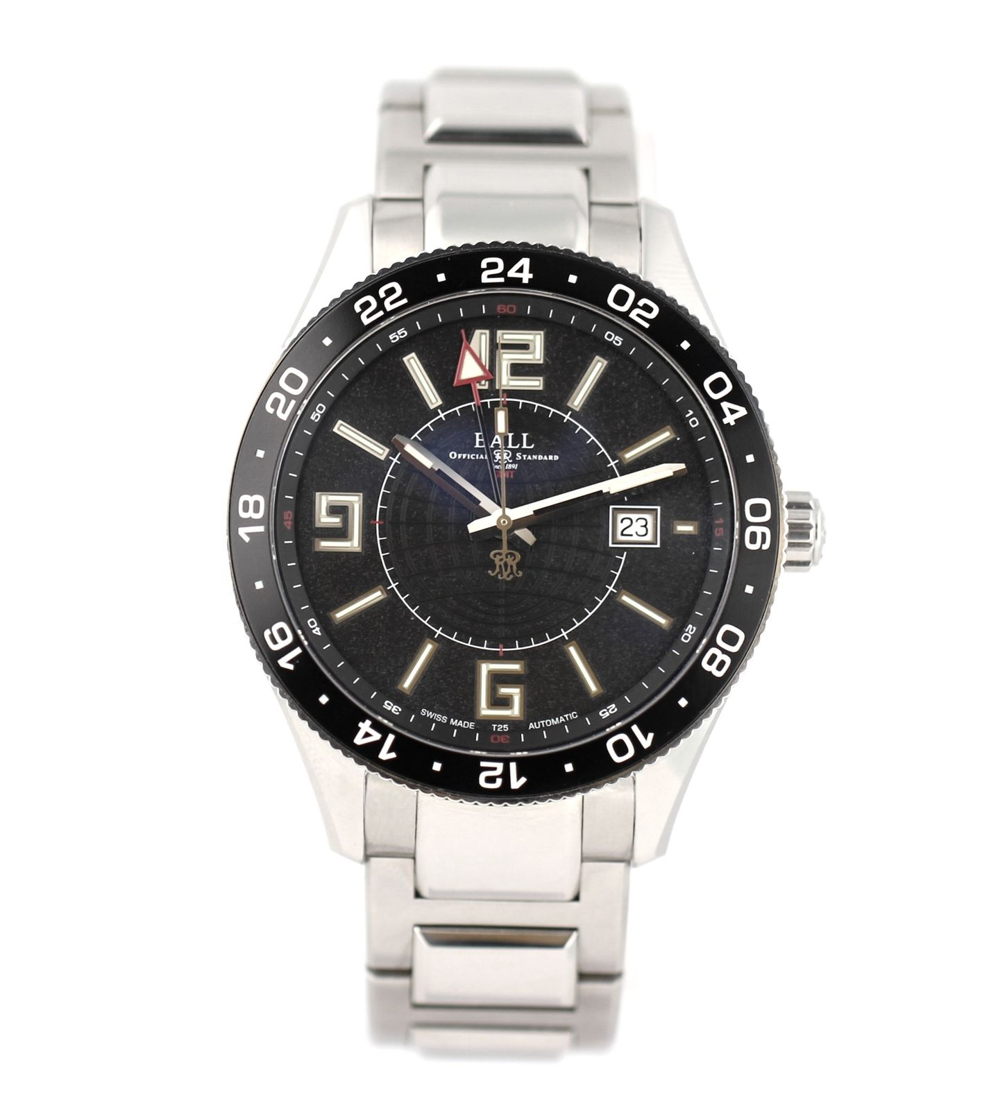 "Image of ""Ball Engineer Master II Pilot Gm3090C Stainless Steel 43mm Mens Watch"""