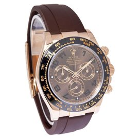 Rolex Daytona 116515LN 18K Rose Gold/Ceramic & Rubber Automatic 40mm Mens Watch
