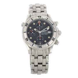 Omega Seamaster Chronograph 2598.80.00 Stainless Steel 42mm Mens Watch