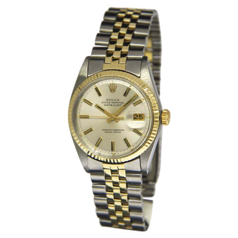 "Image of ""Rolex Datejust 1601 Stainless Steel / 14K Yellow Gold Automatic"""
