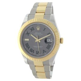 Rolex Datejust II 116333 18K Yellow Gold / Stainless Steel Automatic 41mm Mens Watch