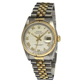 Rolex Datejust 16233 18K Yellow Gold / Stainless Steel Automatic 36mm Mens Watch