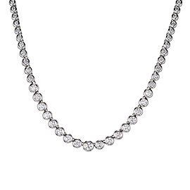 Platinum with 7.00ct Diamond Necklace