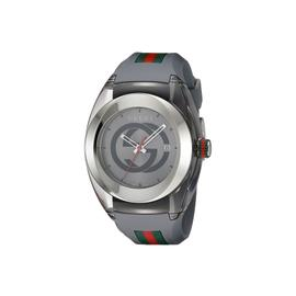 Gucci SYNC XXL YA137109 Stainless Steel and Grey Rubber Bracelet Watch
