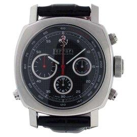 Panerai Ferrari FER00005 Stainless Steel & Leather 45mm Watch